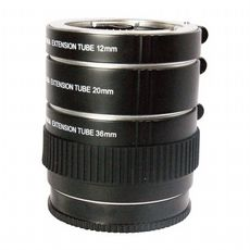 Sony Alpha A-Mount Auto Extension Tube Set